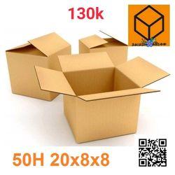 50 thùng carton 20-15-15 và 20-8-8