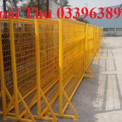 Hàng rào vách ngăn mạ kẽm sơn tĩnh điện giá sỉ