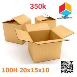 100 thùng carton 20-15-10