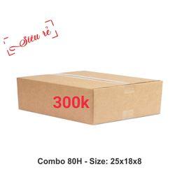 80 thùng carton 25-18-8