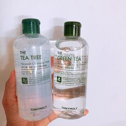Nước tẩy trang Tonymolyss The Tea Tree No-Wash Cleansing Water