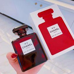 Nước Hoa Authentic Nữ Hot Nhất No5 Eau De Parfum Red Limited giá sỉ