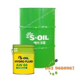 Dầu thủy lực S-OIL HYDRO FLUID AW - hàn quốc giá sỉ
