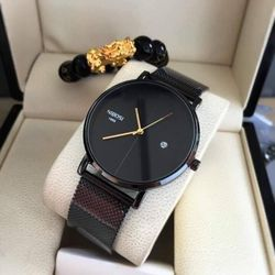 Đồng hồ nibosi Dây lụa mỏng đẹp thời trang chống nước tốt
