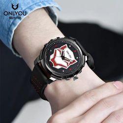 Đồng hồ thể thao Onlyou báo đen giá sỉ