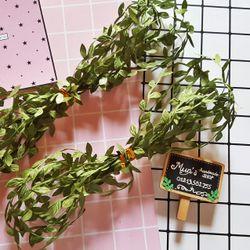 Dây ruy băng lá trang trí khung hình vòng hoa đội đầu - Không kẽm giá sỉ