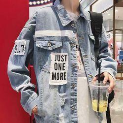 áo khoác jean nam - xưởng siêu sỉ giá sỉ