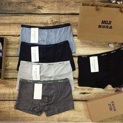 Combo 5 quần lót muji nam giá sỉ, giá bán buôn