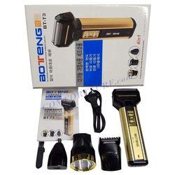 Bộ máy cạo râu Tông đơ cắt tóc 4 trong 1 BOTENG BT-T3Đen vàng giá sỉ