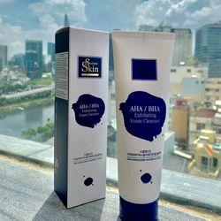 Sữa rửa mặt Skin AHA/BHA Korea