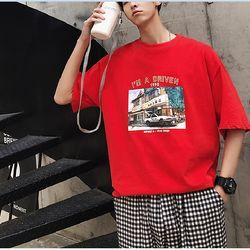 áo nam đỏ xanh tay lở xin 3d đẹp giá sỉ