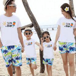 áo thun gia đình new C29 giá sỉ