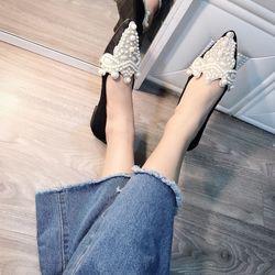 Giày bup bê đính Ngọc giá sỉ