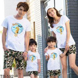 áo thun gia đình new C73 giá sỉ, giá bán buôn