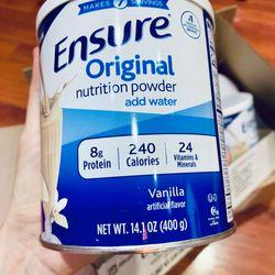 Sữa Ensure Mỹ 400g dạng bột mẫu mới hàng air