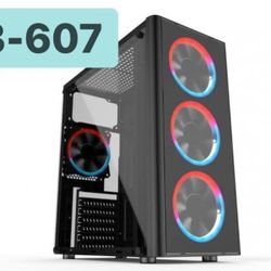 Case V3-607 GAMING TRONG SUỐT giá sỉ
