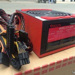 Nguồn VISION- 400W VÀ 420W fan 12cm sata -CÔNG SUẤT THỰC giá sỉ