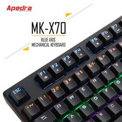 KB APEDRA MK- X70 CƠ - GAMING - LED ĐỔI MÀU USB giá sỉ