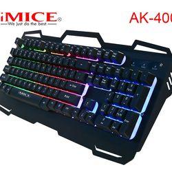 KB IMICE AK-400 Giả Cơ CÓ LED chuyên GAME USB giá sỉ