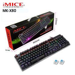 KB IMICE MK-X80 PHÍM CƠ - CHUYÊN GAME - 10 CHẾ ĐỘ LED giá sỉ