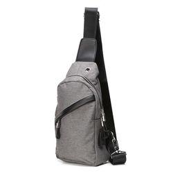 Túi Đeo Chéo kèm sạc điện thoại - túi đeo chéo nam giá sỉ