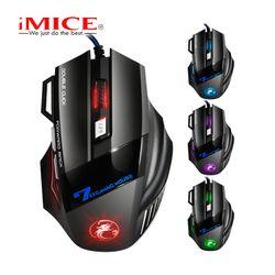 Mouse iMICE X7 Gaming Dây dù – Led 7 màu giá sỉ