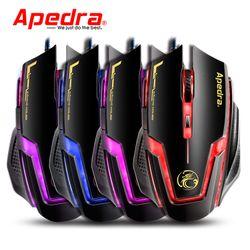 Mouse APEDRA A9 Gaming Dây dù – Led 7 màu giá sỉ