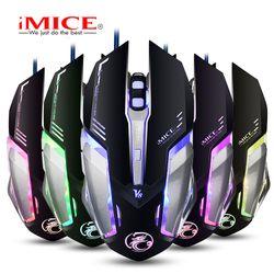 Mouse iMICE V8 Gaming Dây dù – Led 7 màu giá sỉ