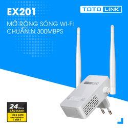 Bộ Thu Phát Totolink EX201 - 300Mbps giá sỉ