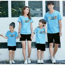 áo thun gia đình new C75 giá sỉ