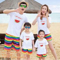 áo thun gia đình new C39 giá sỉ