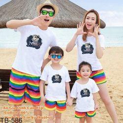 áo thun gia đình new C39 giá sỉ, giá bán buôn