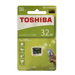 THẺ NHỚ MICRO SD 32G TOSHIBA BOX XANH 100 MB giá sỉ