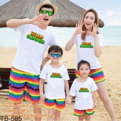 áo thun gia đình new C46 giá sỉ
