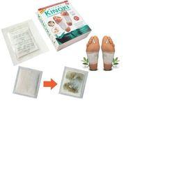 Miếng dán chân giải độc Kinoki chăm sóc sức khỏe bàn chân tiện lợi nhanh chóng 10 miếng/1 hộp giá sỉ