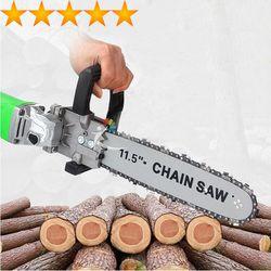 Bộ chuyển đổi máy mài cắt thành máy cưa xích Đơn giản Tiện dụng Tiết kiệm giá sỉ