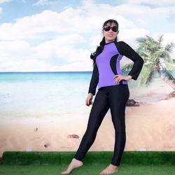 Sét Bơi Nữ Tay Dài