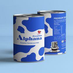 SữađặccóđườngPremiumAlphana1kg giá sỉ