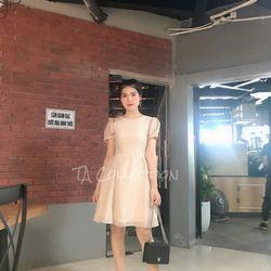 Đầm váy đầm xinh chất tơ gồm 4 màu size s m l