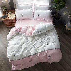 Bộ Chăn Ga Gối Cotton Korea NS179 giá sỉ