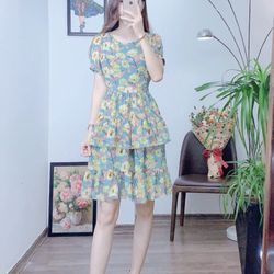 Đầm váy đầm xinh tầng s m l