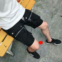 Quần shorts kaki túi hộp phối khóa giá sỉ
