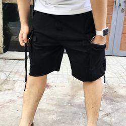 Quần shorts kaki túi hộp phối khóa giá sỉ, giá bán buôn