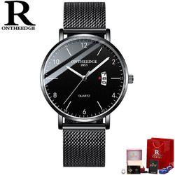 Đồng hồ Ontheedge RZY035 full đen 3 màu giá sỉ, giá bán buôn