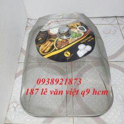 Giá Hủy Diệt Lồng Bàn Vuông Inox Kích Thước 60x40x20cm