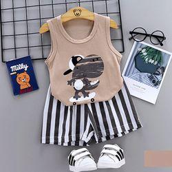 Bộ quần áo cho trẻ sơ sinh chất liệu thun cotton thoáng mát 106-107-108 giá sỉ