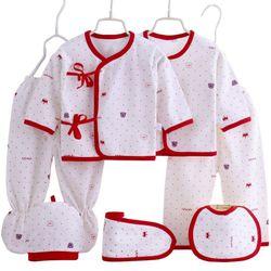 Set 2 bộ quần áo cho bé thun cotton có nónbăng đô và yếm- 114 giá sỉ