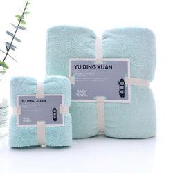 Set 2 Khăn tắm 34x7570x140siêu thấm chất liệu 100 cotton 120g450g -143 giá sỉ