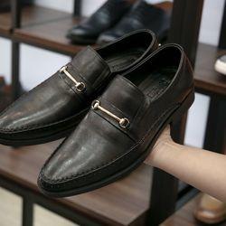 Giày tây da bò thật thời trang hàng công ty GCS14D giá sỉ