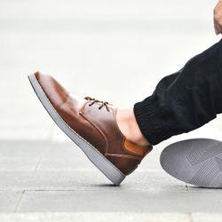 Giày thể thao nam da bò thật đế nhẹ sang trọng giá sỉ